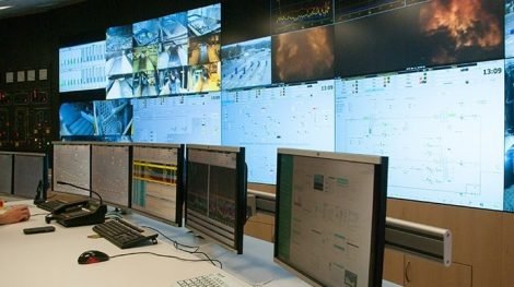 Control Room Netherlands-Waste Energy Plant