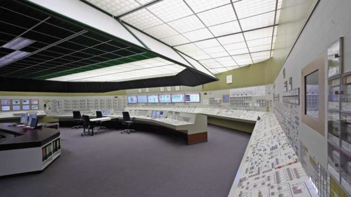 Mozaïeksystemen​ - Simulator Control Room of the Power Plant Isar 2 located at KSG in Essen