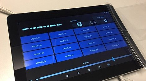 Senario Control Unit Xomnium System with integrated KVM controlled by tablet